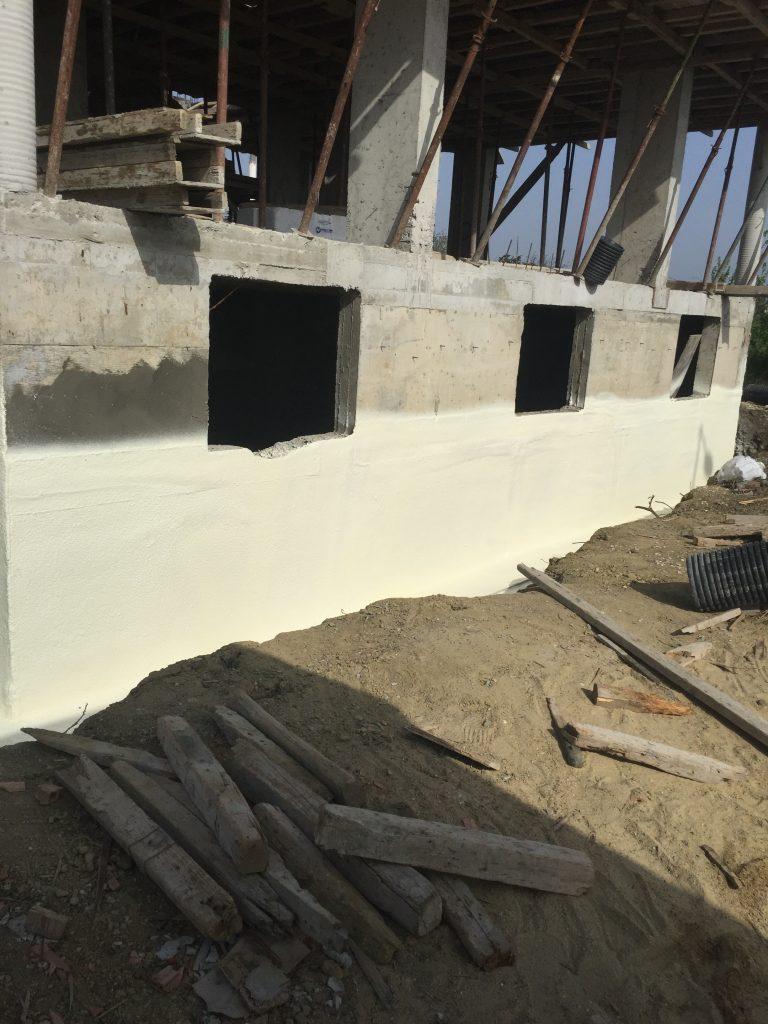 Perde Beton İzolasyonu