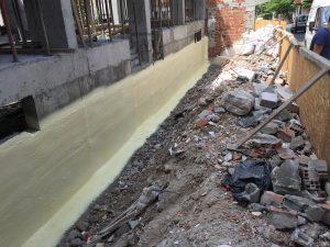 Perde Beton Duvar İzolasyonu